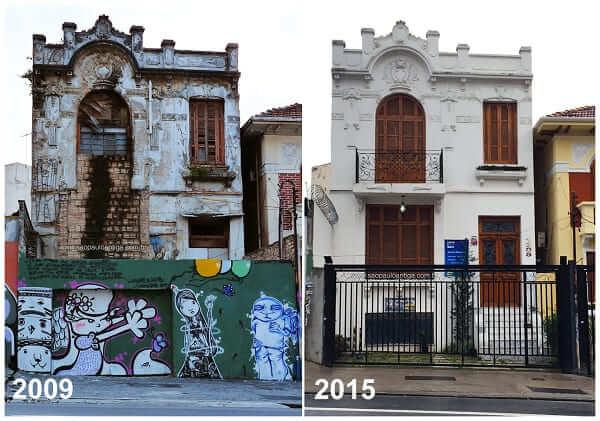 Casas Antigas: imóvel restaurado em São Paulo (foto: São Paulo Antiga)
