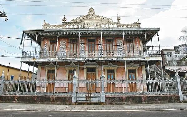 Casas Antigas: Solar Amado Bahia, antiga residência do coronel de mesmo nome (foto: Correio 24 horas)