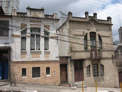 Casas Antigas: casas com lindas fachadas no Bixiga, São Paulo (foto: Flickriver)