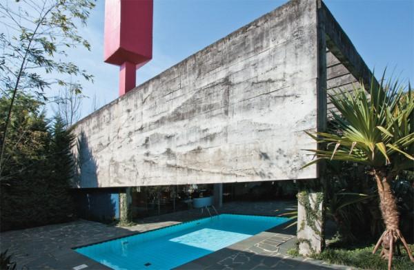Concreto Armado: casa com estilo brutalista (foto: casa.com.br)