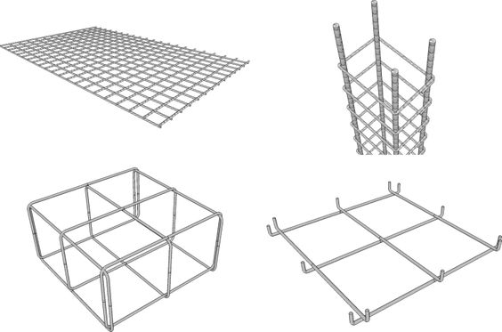 Concreto armado: exemplos de estruturas de concreto armado (foto: Blog Pra Construir)