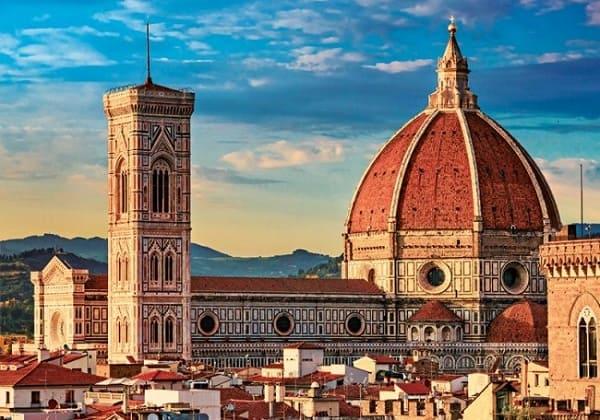 Desenho arquitetônico surgiu no Renascimento (foto: Basílica di Santa Maria Del Fiore, obra mais famosas do Renascimento)