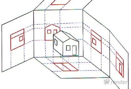 Desenho arquitetônico: tipos de vistas