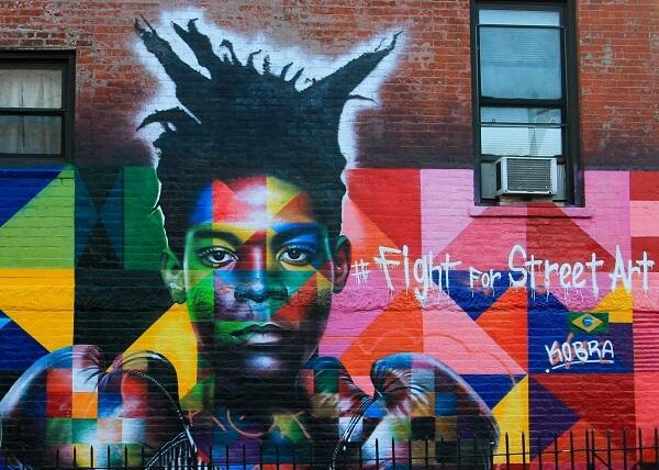 Kobra grafite: Fight for Street, Art Brooklyn, EUA