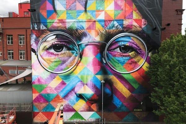 Kobra grafite: John Lennon (Inglaterra)