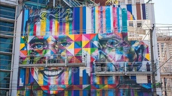 Kobra grafite: obra em andamento