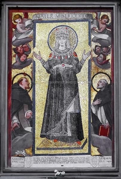Mosaico original na Basílica de São Marcos (Florença)