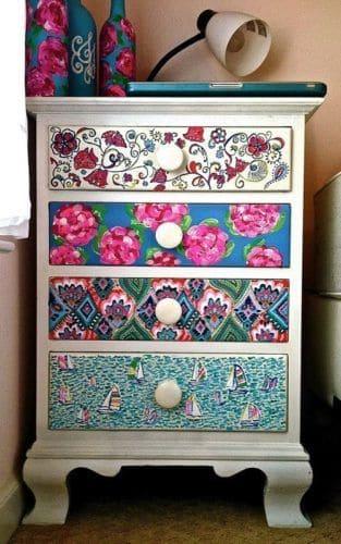 2. Mosaico traz vida a objetos antigos (foto: Pinterest)