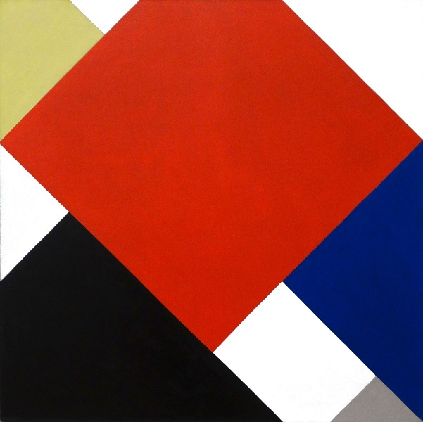 Neoplasticismo: Counter-Composition V - The Van Doesburg - 1924