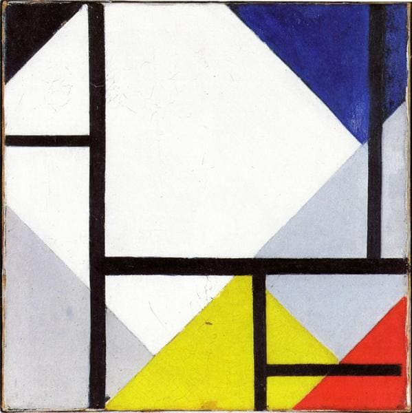 Neoplasticismo: Simultaneous Counter Composition The Van Doesburg - 1929