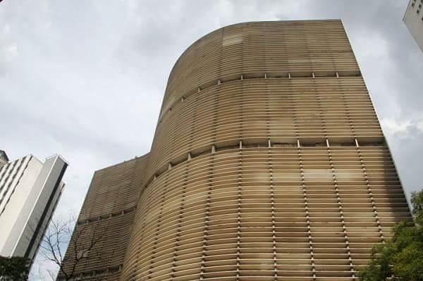 Concreto armado: Copan, de Oscar Niemeyer