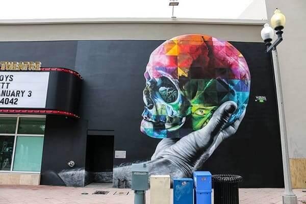 Kobra grafite: Hamlet, West Palm Beach, Flórida, EUA