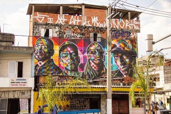 5. Kobra grafite: Racionais MC's, Capão Redondo, São Paulo