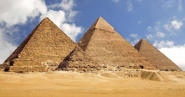 Alvenaria: Pirâmides do Egito
