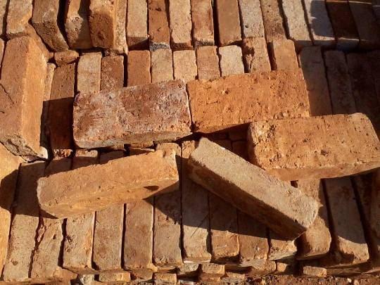 Alvenaria: tijolo de adobe