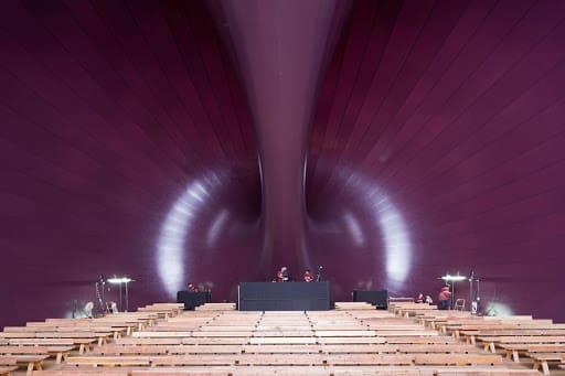 Arata Isozaki: Ark Nova - interior (foto: More Than Green)