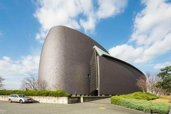 Arata Isozaki: Nara Centennial Hall (foto: Pinterest)