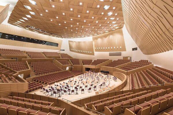 Arata Isozaki: Shanghai Symphony Hall (foto: Pinterest)