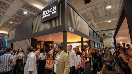 Expo Revestir 2020: Creative Days são dedicados a visitar os expositores (foto: Stand Roca)