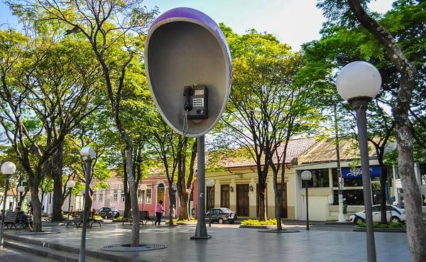 Mobiliário Urbano: Itu tem elementos que remetem à fama da cidade