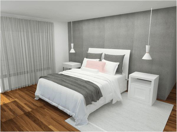 Pré-Obra: 3D do Projeto LO realizado pela arquiteta Carolina Pinho (arqui.ctmp)