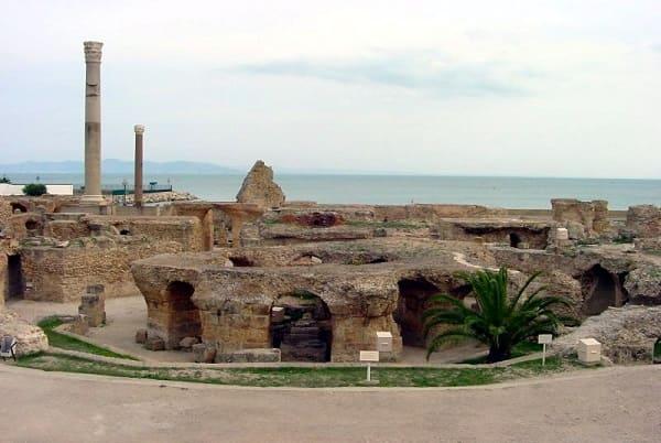 Taipa: cidade de Cartago (foto: Wikipédia)