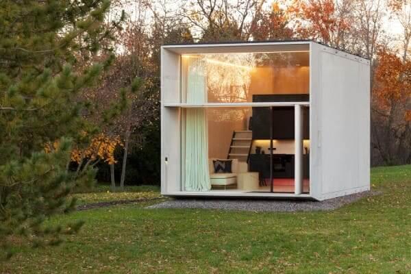 Tiny House com arquitetura moderna (foto: Paul Kiumet)