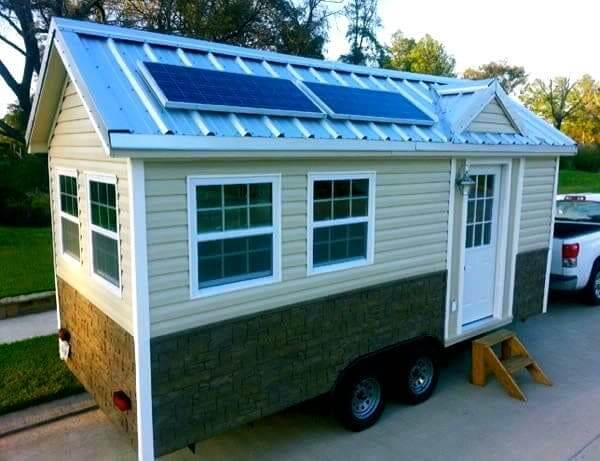 Tiny House com energia solar (foto: Pinterest)