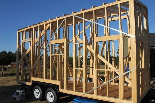Tiny House: construção com Wood Frame é rápida