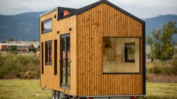 Tiny House de madeira sobre rodas (foto: Shutterstock)
