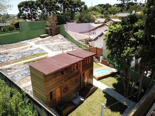 Condomínio de Tiny House em Curitiba: obra foi parada devido a multas
