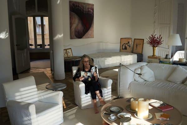 Casa Milá: Ana Viladominu é única moradora do local (foto: Gazeta do Povo)