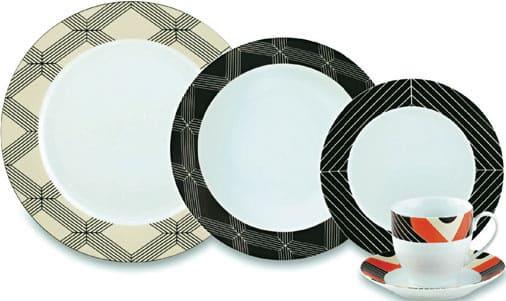 Marcelo Rosenbaum: aparelho de jantar da linha Mesa Brasileira, da Full-Fit (foto: casa.com.br)