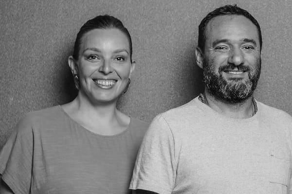 Marcelo Rosenbaum e Adriana Benguela