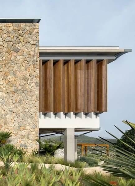 Pedra Madeira com fachada ventilada (foto: Archidaily)