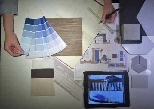 O que é moodboard (foto: Palier Arquitetura e Design)