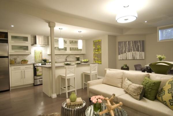 Tipos de iluminação: iluminação difusa na sala de estar (foto: Ilumisul Materiais Elétricos)