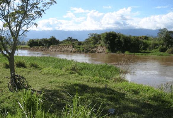 Ilhas de calor: planície de inundação em área de floresta (foto: ResearchGate)