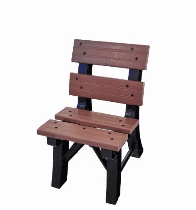 Madeira plástica: cadeira (foto: Mesas e Cadeiras de Plástico)