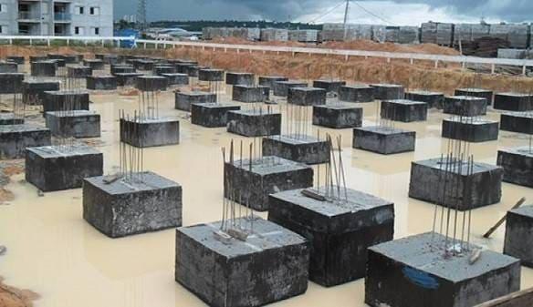 Tipos de fundação para casa: blocos de fundação (foto: Engenheiro de Custos)