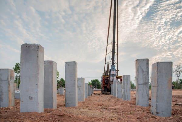 Tipos de fundação: estacas (foto: APL)