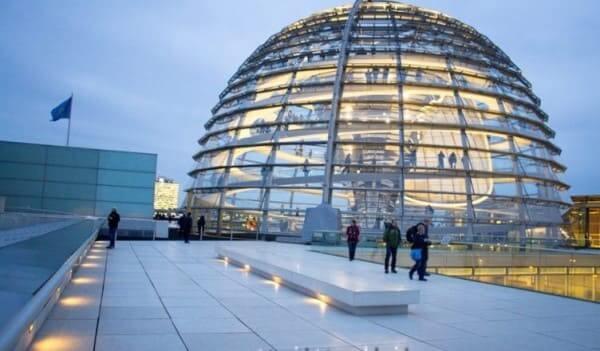 Abóbada Cúpula de Reichstag, de Norman Foster (foto: Turistando.in)