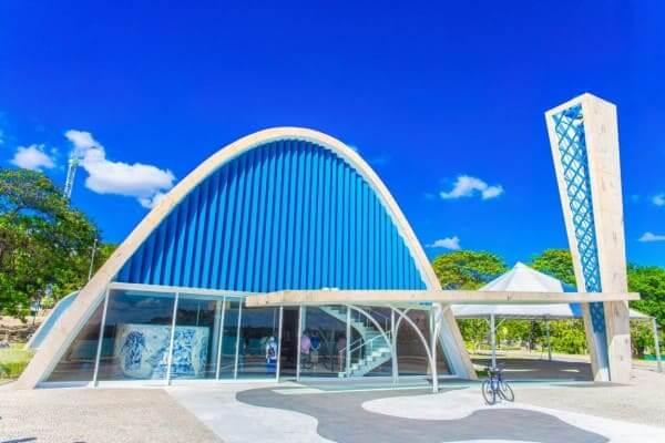 Abóbada Igreja da Pampulha, de Oscar Niemeyer (foto: Farofafá)