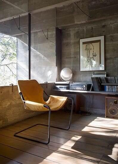 Poltrona de Design Brasileiro: Cadeira Paulistano, Paulo Mendes da Rocha (foto: Pinterest)