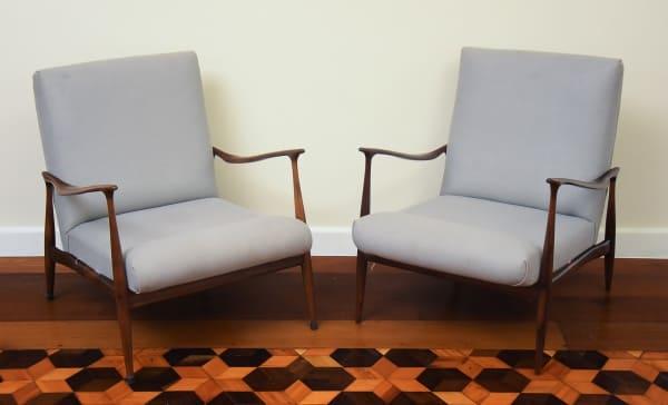 Poltrona de Design Brasileiro: Poltrona Dinamarquesa (Foto: Toque de Classe Galeria de Artes)