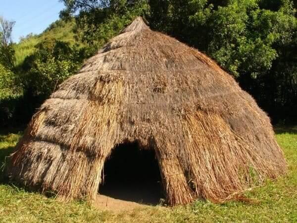 Abóbada: oca indígena (foto: Pinterest)