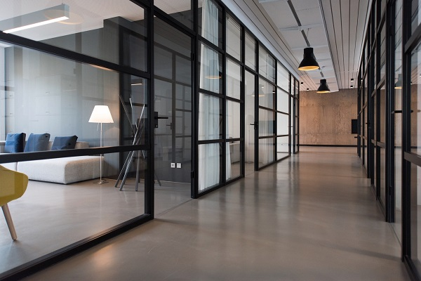 Imagem de espaço comercial vazio