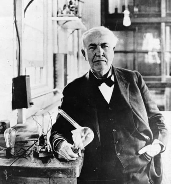 Invenções da Belle Époque: Thomas Edson, inventor da lâmpada elétrica (foto: tecmundo)