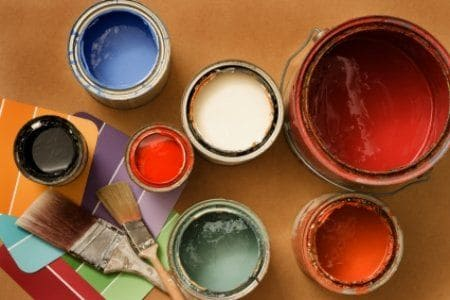 Tipos de pintura para paredes (foto: doityourself.com)