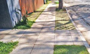 piso drenante em calçadas foto drenaltec